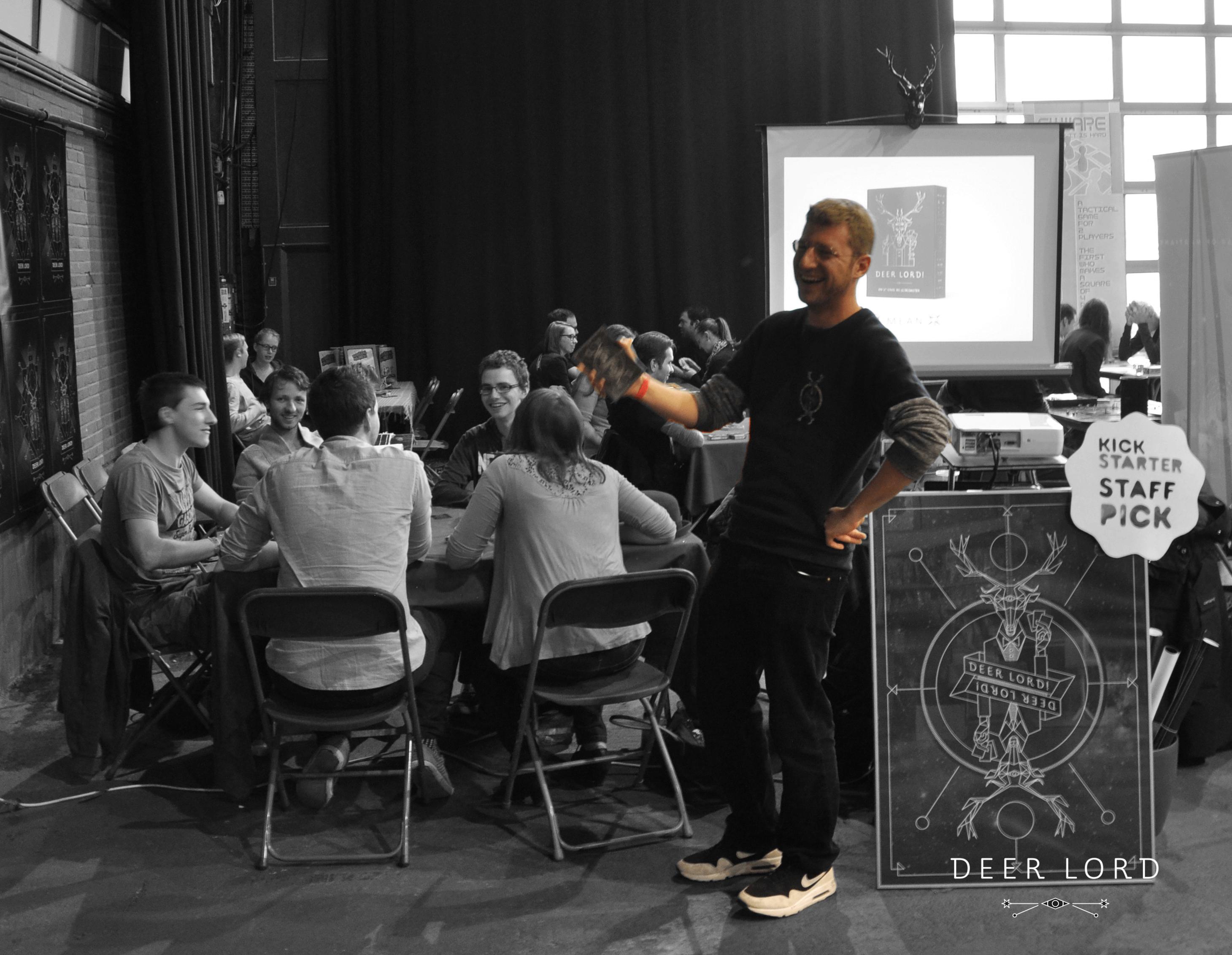 Dries De Geyter at Spel 2015
