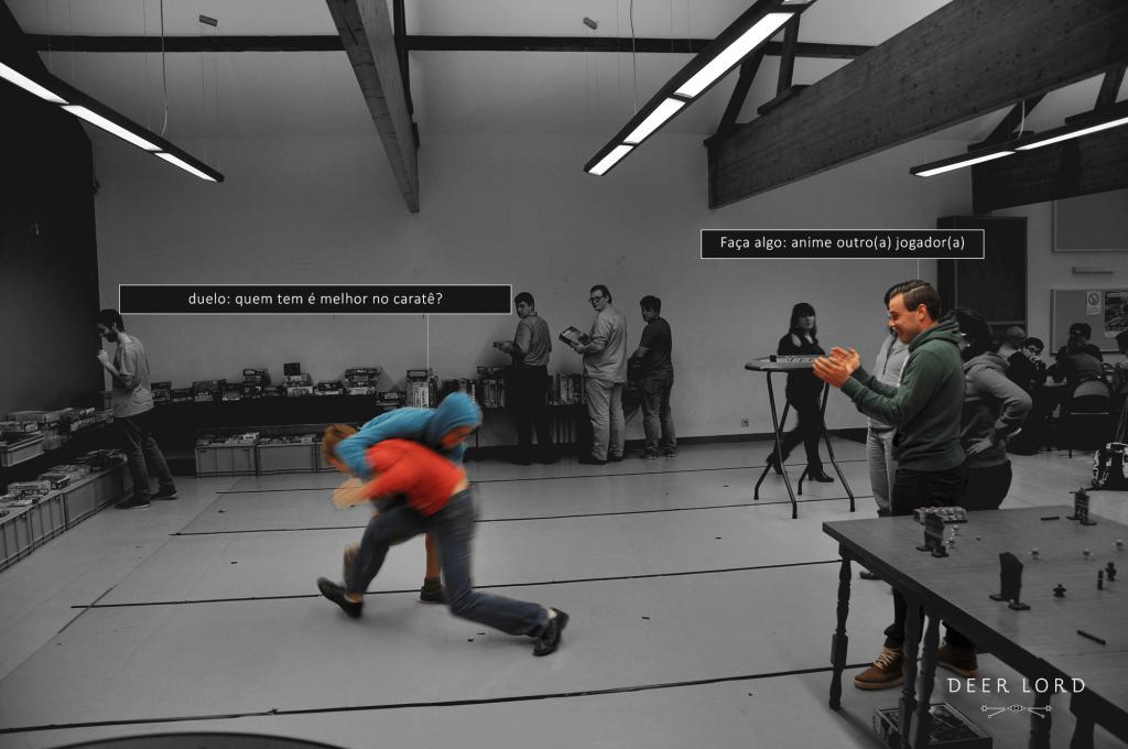 Vichte karate duel