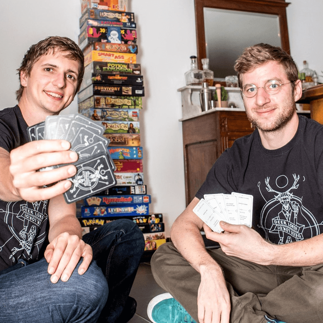 deer lord party card game developers creators Dennis Dries