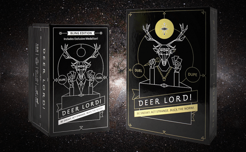 deer lord party game new editions bling gold