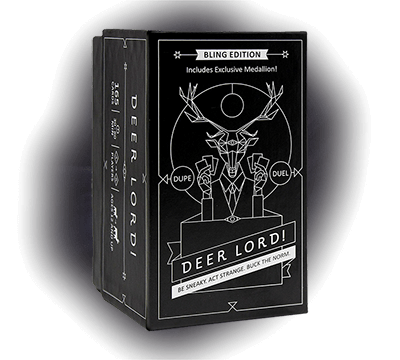 deer lord party retail edition product box hobby