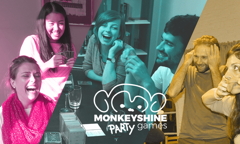 monkeyshine party games header