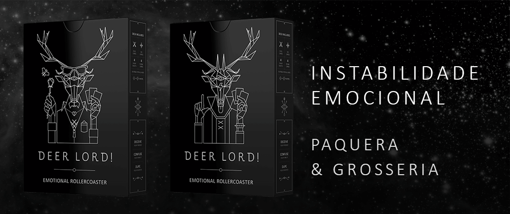 deer lord party card game products expansion instabilidade emocional paquera grosseria