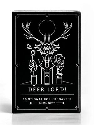 deer lord party card game expansion emotional rollercoaster